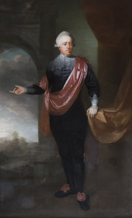 John Hussey Delaval, later 1st Baron Delaval of Seaton Delaval (1728-1808), in Vandyck dress